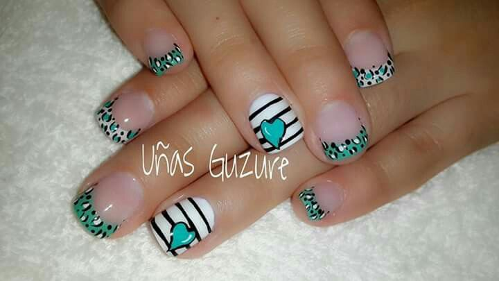 Pin De Merce Gonzalez En Uñas Diseños De Uñas Uñas Y