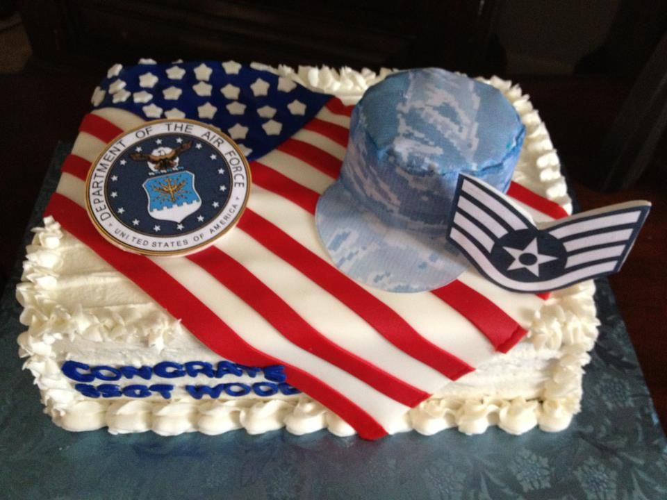 Air force cake looks yummy pinterest air for Air force cakes decoration
