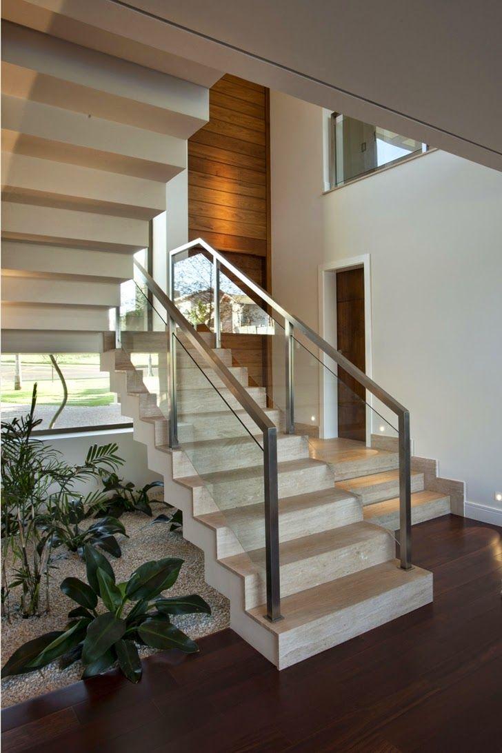 Pin de Ma Rine en Escalier Pinterest Escalera Casas y Casas