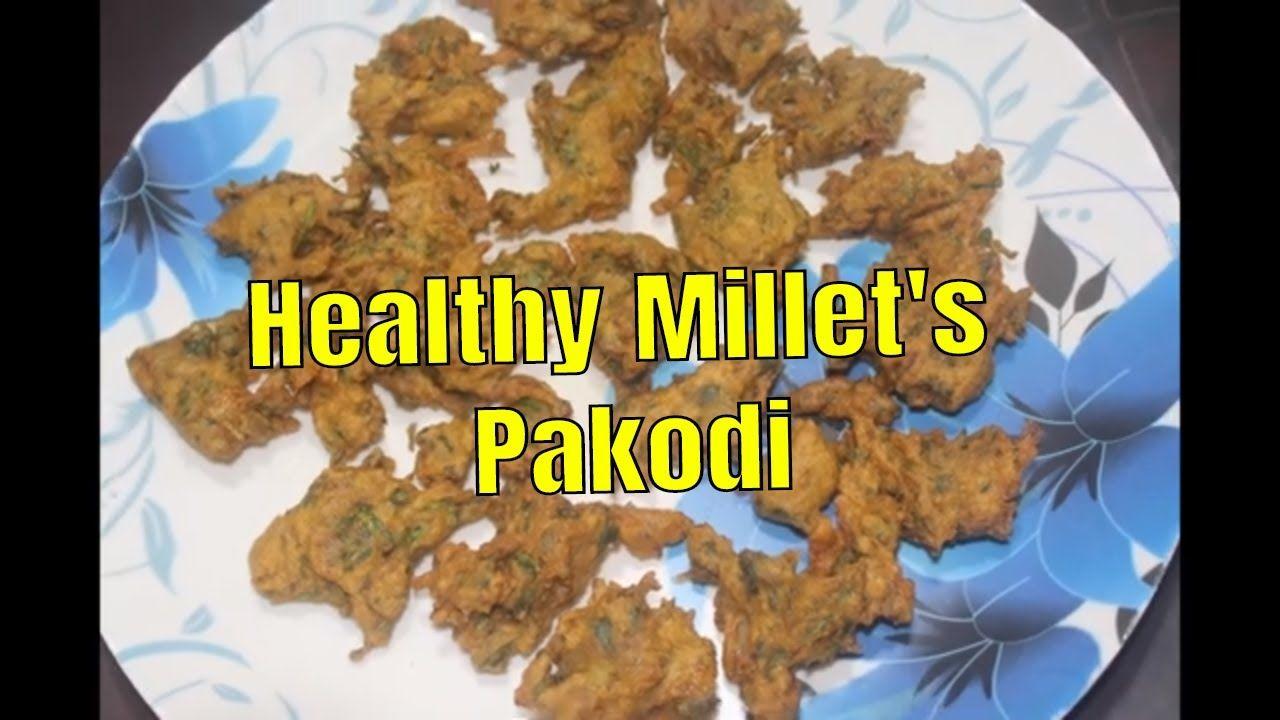 Indian millet recipes in Telugu / Korra Pakodi Recipes in