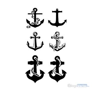 Anchor Icons Logo Vector Cdr Vector Logo Anchor Icon Anchor Logo