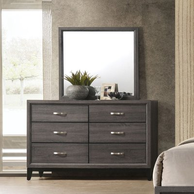 Brilliant Acme Furniture Valdemar 6 Drawer Dresser With Optional Short Links Chair Design For Home Short Linksinfo