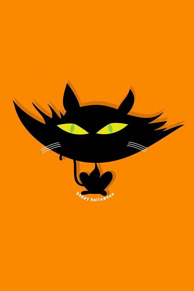 Black Cat Halloween Wallpaper Iphone Halloween Backgrounds Cat Wallpaper Halloween Bats Halloween