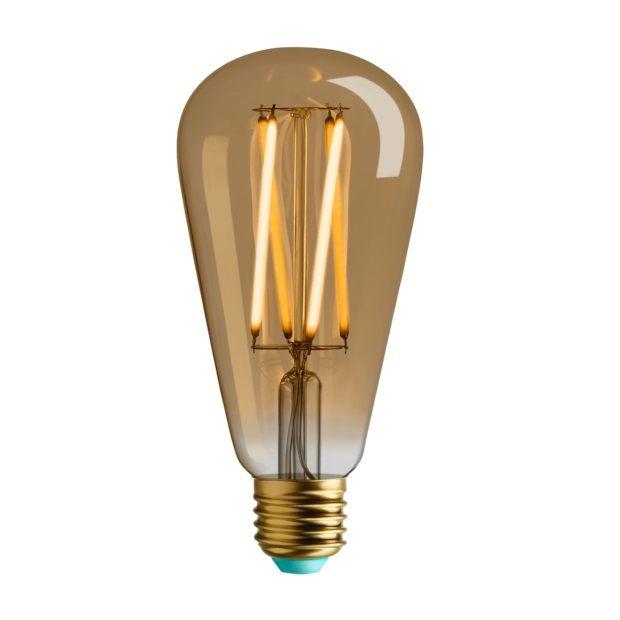 Whirly Willis - Flexible LED Filament Bulb E27 gold