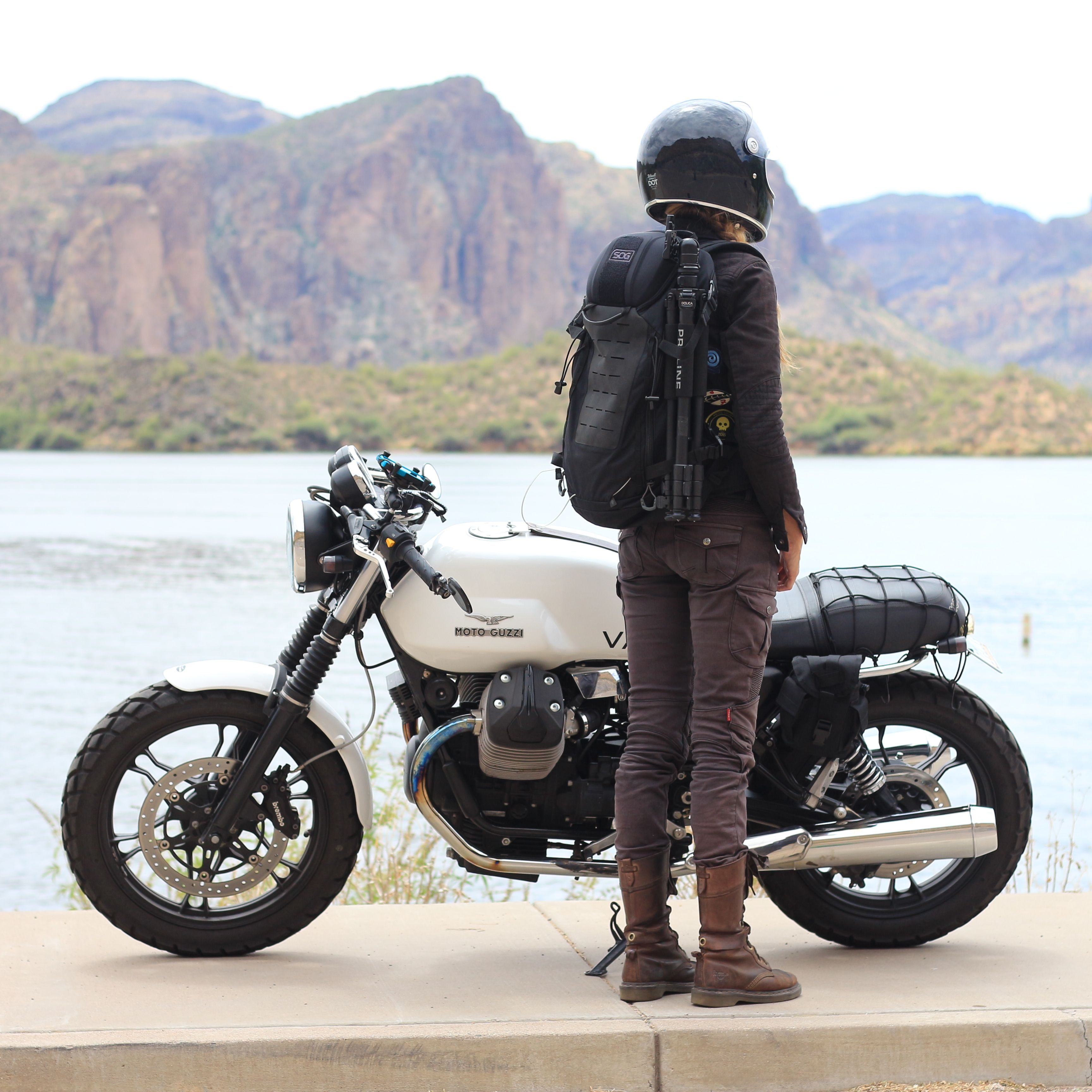 Scout 24 Motorcycle Culture Moto Guzzi Cafe Racer Motorcycle Travel