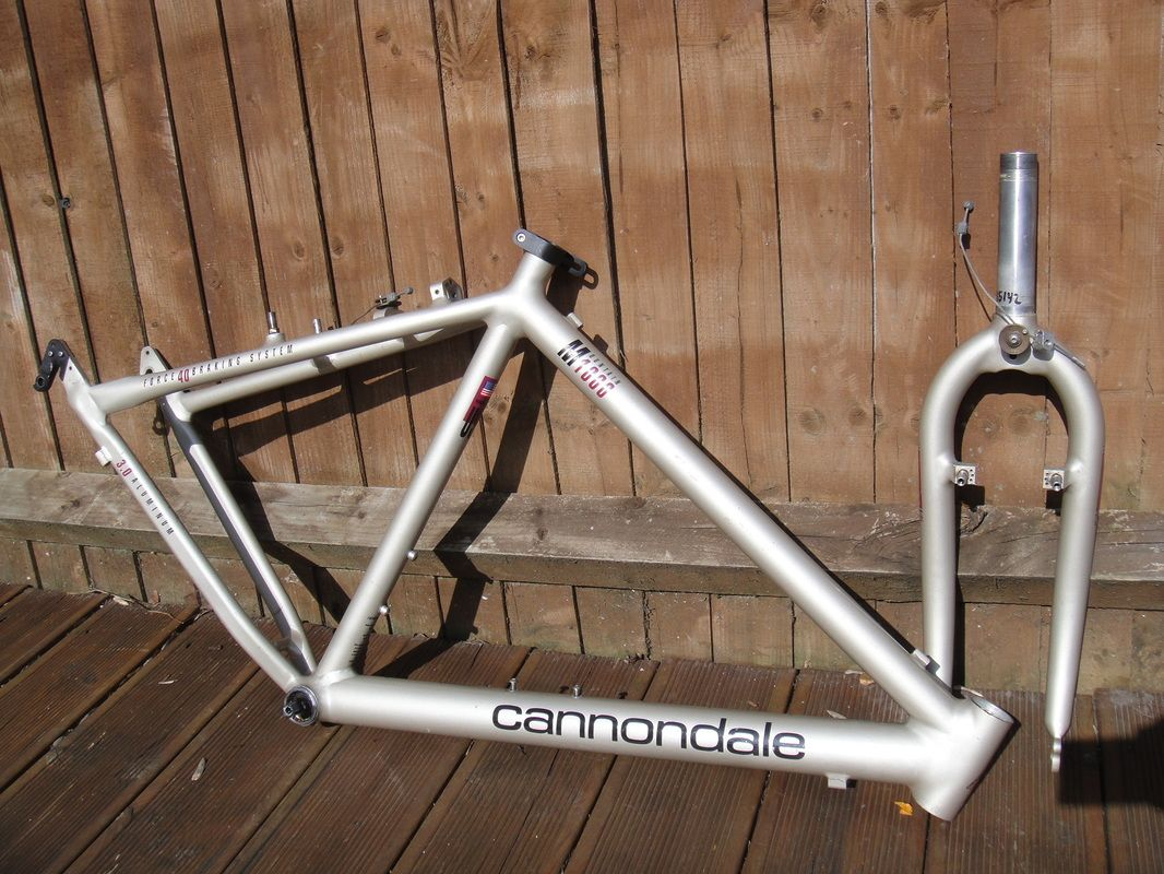 1c89b91b028 #1992 Cannondale M1000 retro mountain bike frame and forks Like, Repin,  Share, Follow Me! Thanks!