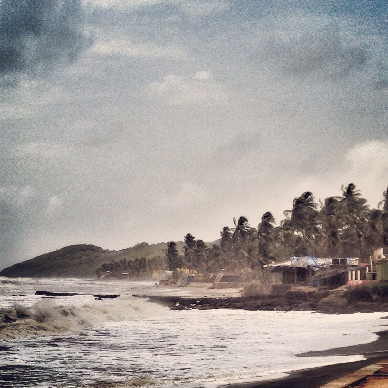 Storm over Goa