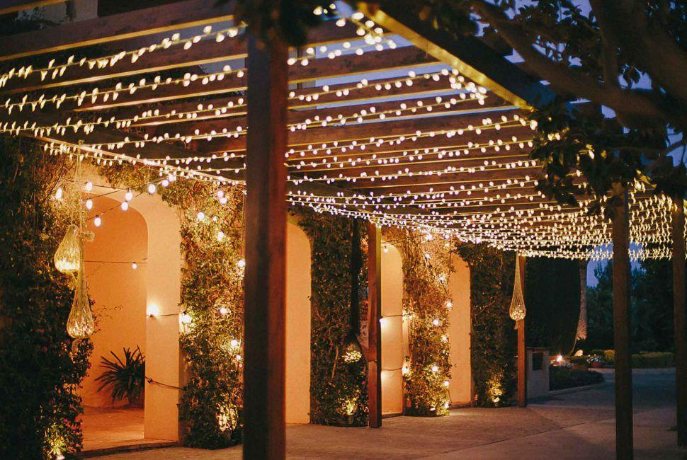 Diy Garden Lighting Ideas Inspiration Outdoor Hanging Lights For Pergola Fairy Light Photo Via Volv Gazebo Lighting Solar Lights Garden Outdoor Lighting Design