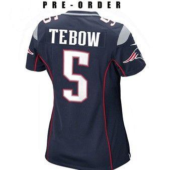 online store e7fe1 59641 Pre-Order Nike Tim Tebow Patriots Jersey | Football Gear ...