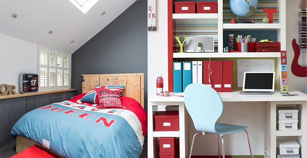 bed design for kids 2018. Kids rooms  Blue red Boys room 2018 boys bedroom decor design