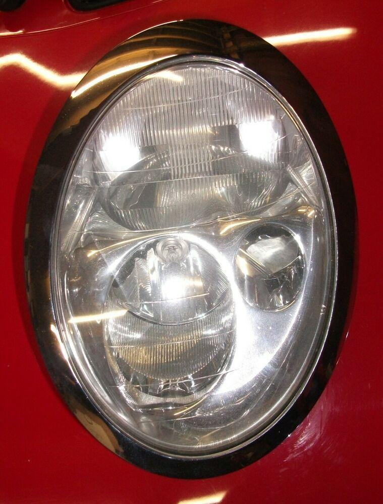 Mini R50 R53 Nearside Left Hand Halogen Headlight Unit 63126911701 Free Post Mini Halogen Headlights Headlights Mini Cooper One