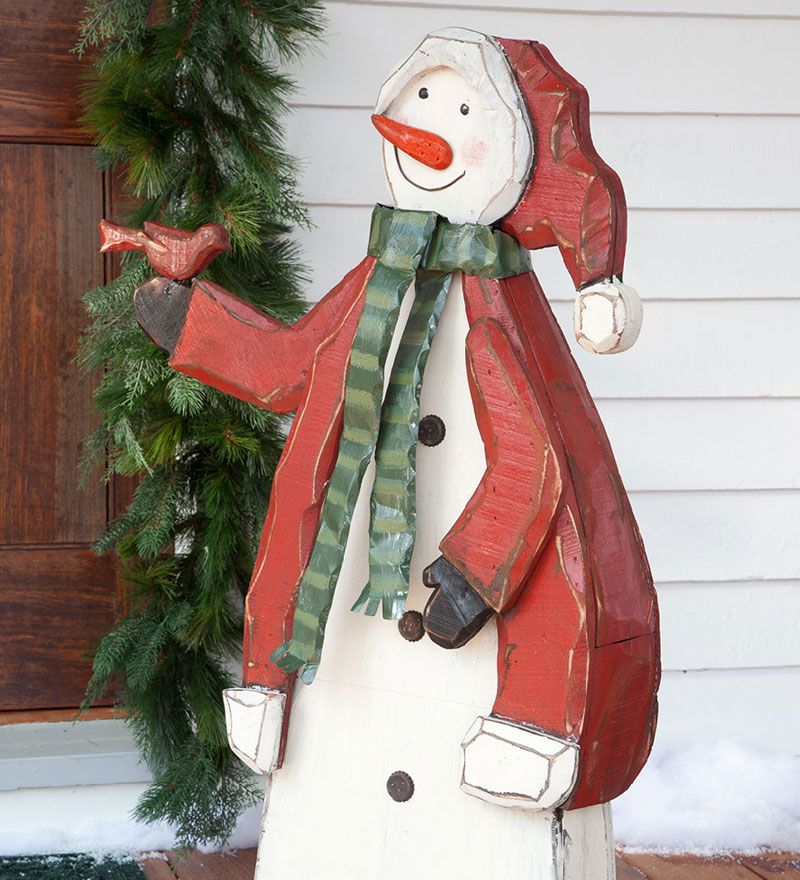 Woodenchristmasyarddecorations Large Wooden Indoor Or Outdoor