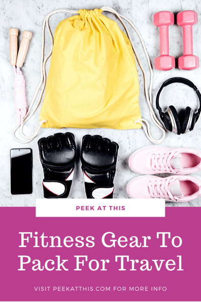 BEST FITNESS EQUIPMENT TO KEEP YOU IN SHAPE WHILE TRAVELING