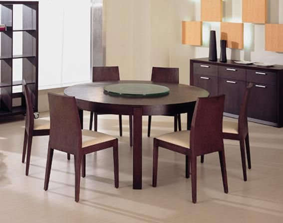 Contemporary Round Dining Room Tables Awesome Nice Modern Round Dining Room Table And Chairs Without Arm Design Decoration