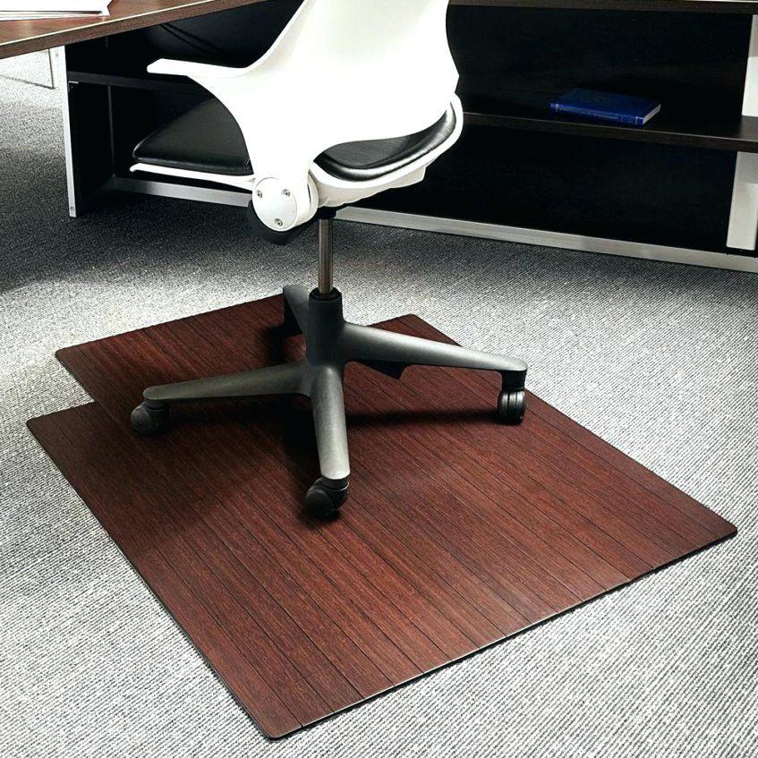 "36"" X 48"" Home Office Chair Pvc Floor Mat Studded Back"