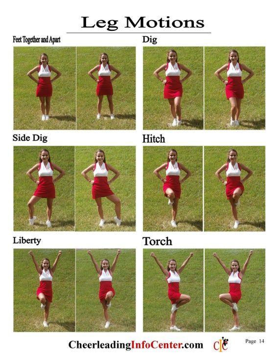 Cheerleading Motions Ebook Volume 1  CIC Cheerlead