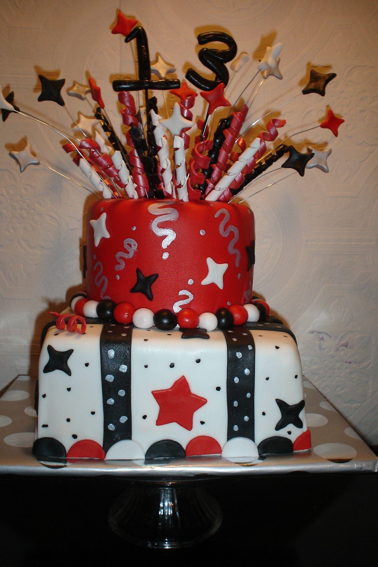 Firework Cakes Fireworks Cake Celebrate With Red White And Blue