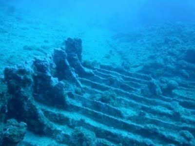 Sunken planes n ships from Bermuda Triangle is especially difficult coz the depth is just 31,100feet(9,200meters) n is the deepest part of Atlantic O cean..crafts that sink to such low level r seldom seem again...this underwater photo shows an unidentified Caribbean shipwreck discovered on April 1,2011