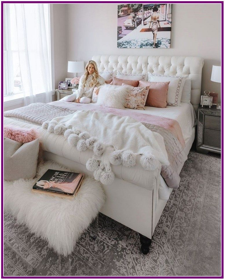 27 Exquisitely Admirable Modern French Bedroom Ideas To Steal Aoneperfume Pink Bedroom Decor Bedroom Decor Cozy Home Decorating