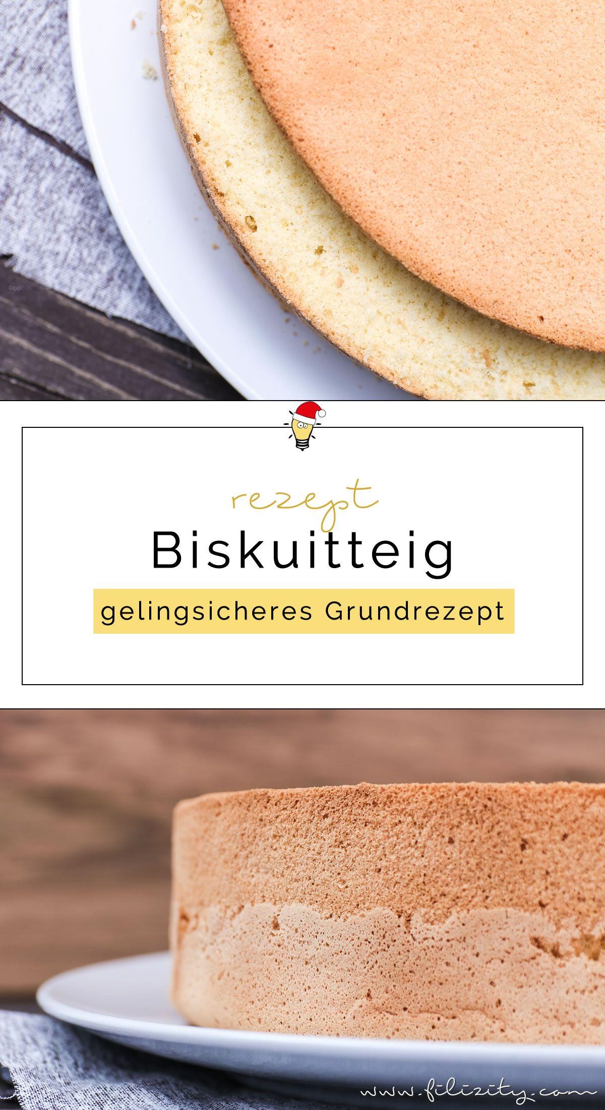 Gelingsicheres Biskuitteig Rezept für Torten & Desserts | Filizity.com | Food-Blog aus dem Rheinland