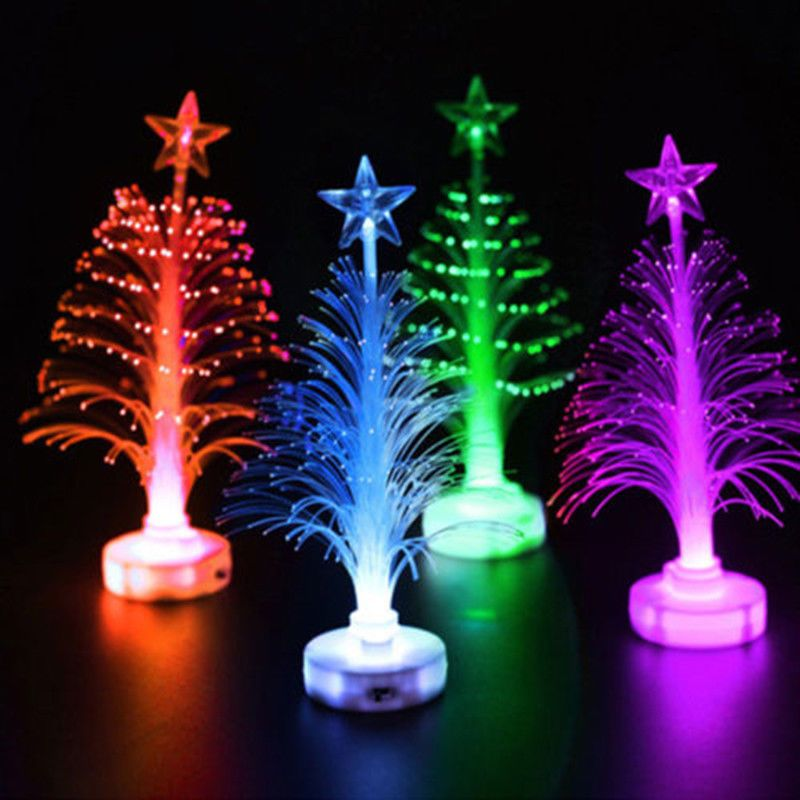 Christmas Xmas Led Lights Tree 7 Colors Changing Lamp Party