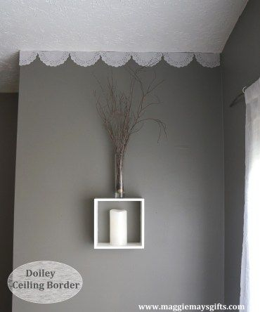 Maggie May S Diy Ideas For Everyday Wall Borders Diy Ceiling Ceiling Detail