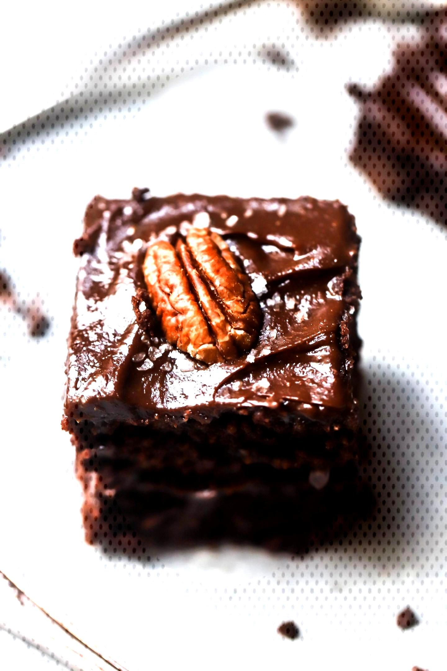Gooey Cinnamon Frosted Brownies