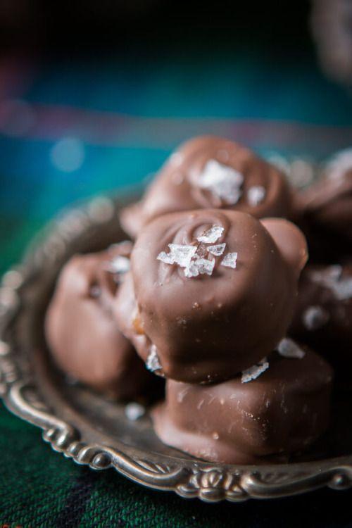 Salted Milk Chocolate CaramelsReally nice recipes. Every  Mein Blog: Alles rund um Genuss & Geschmack  Kochen Backen Braten Vorspeisen Mains & Desserts!