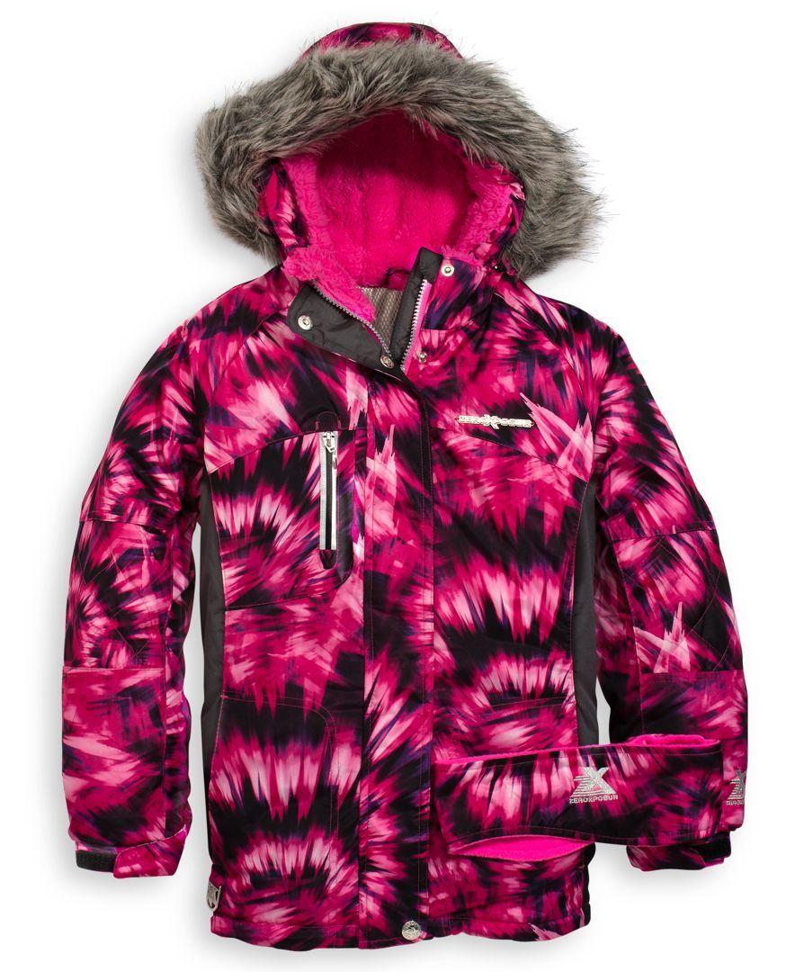 2fb87817f ZeroXposur Girls  Victoria Snowboard Jacket