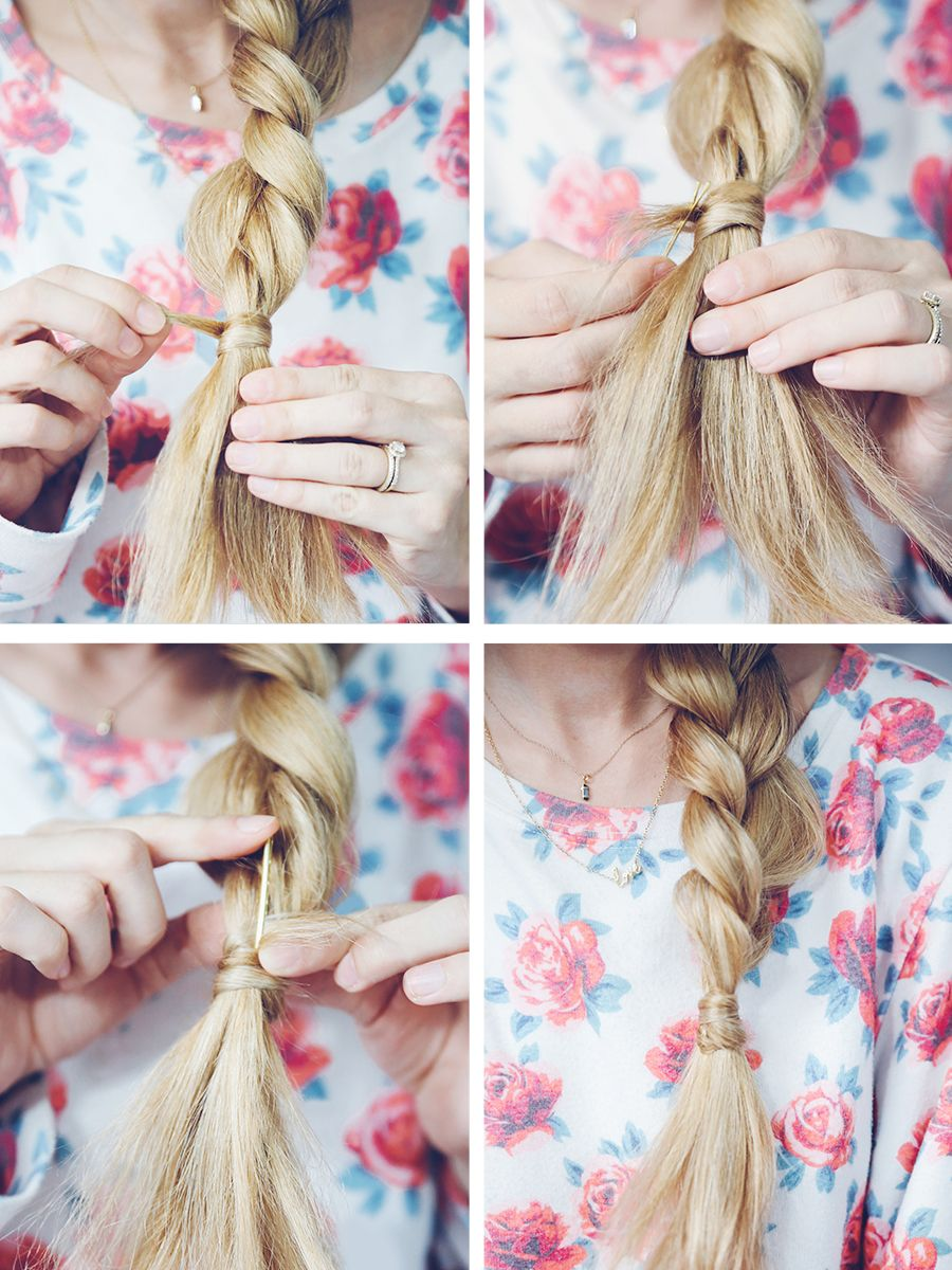 Hide Your Rubber Band Without A Bobby Pin @panteneus #besthairever