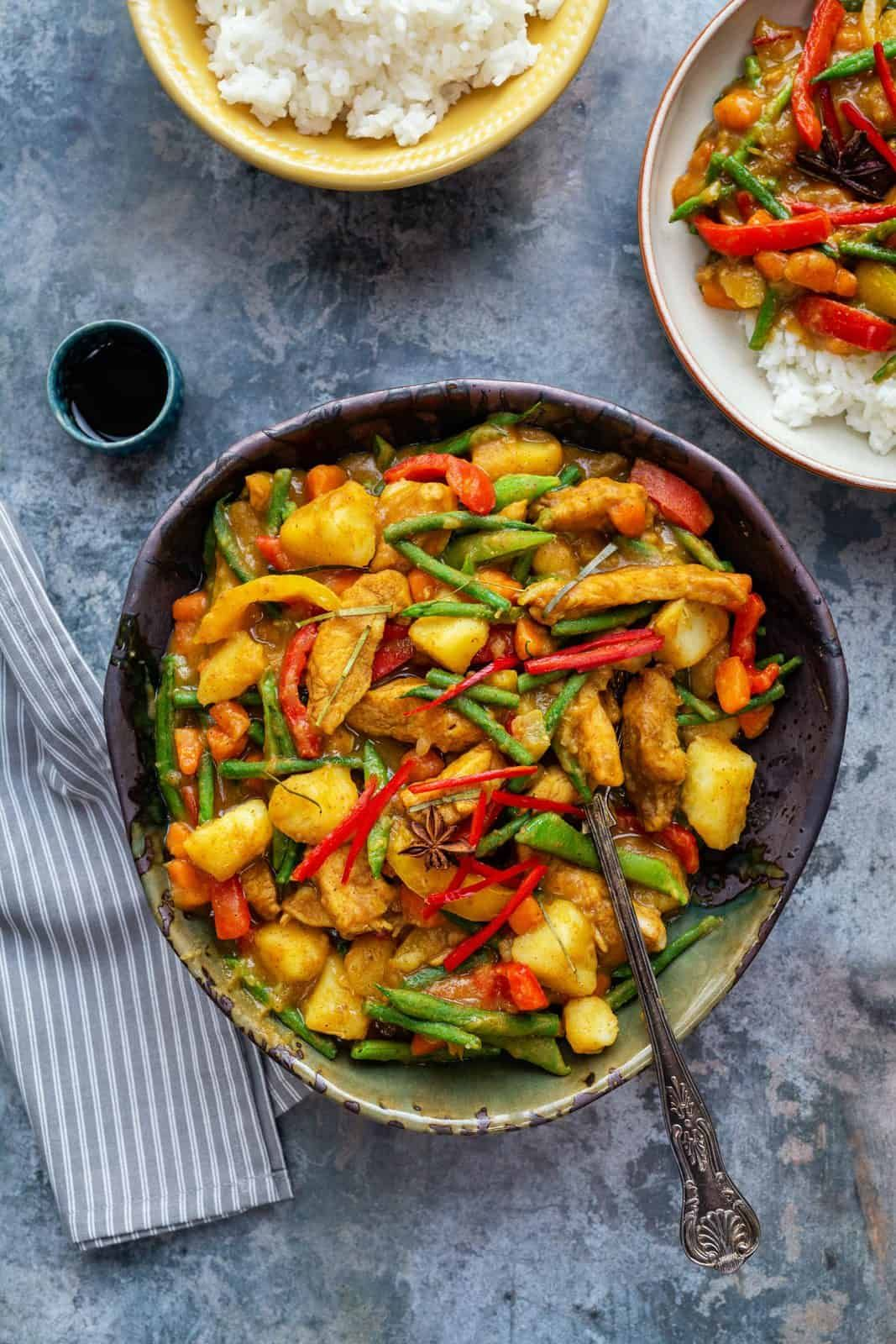 how to cook chinese curry chicken