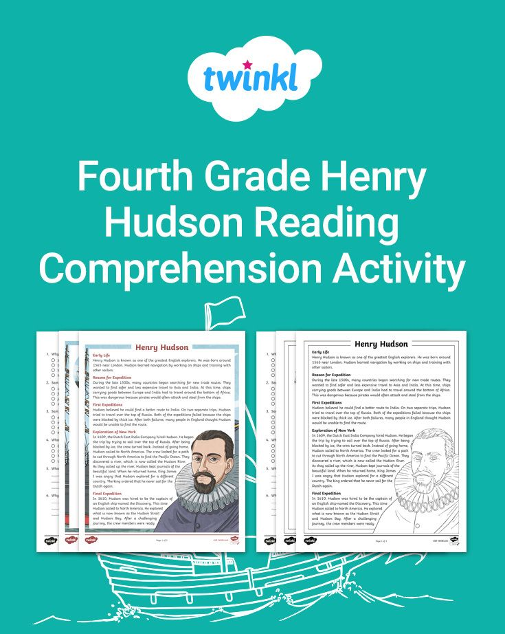 Present your students with facts about Henry Hudson and ...