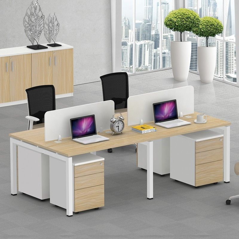 Modern Customized Open Space Office Furniture Melamine 4 Seats Office  Partition   Buy Melamine Office Partition,Office Furniture Plastic  Partition,Movable ...