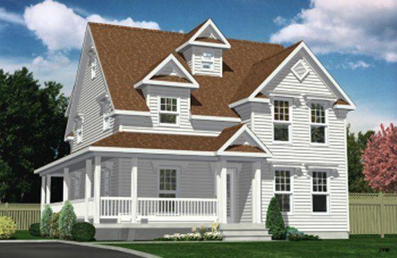 Champêtre LAP0400 Maison Laprise - Maisons pré-usinées Projets - Modeles De Maisons Modernes