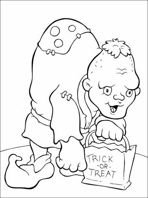 halloween 32 ausmalbilder für kinder malvorlagen zum