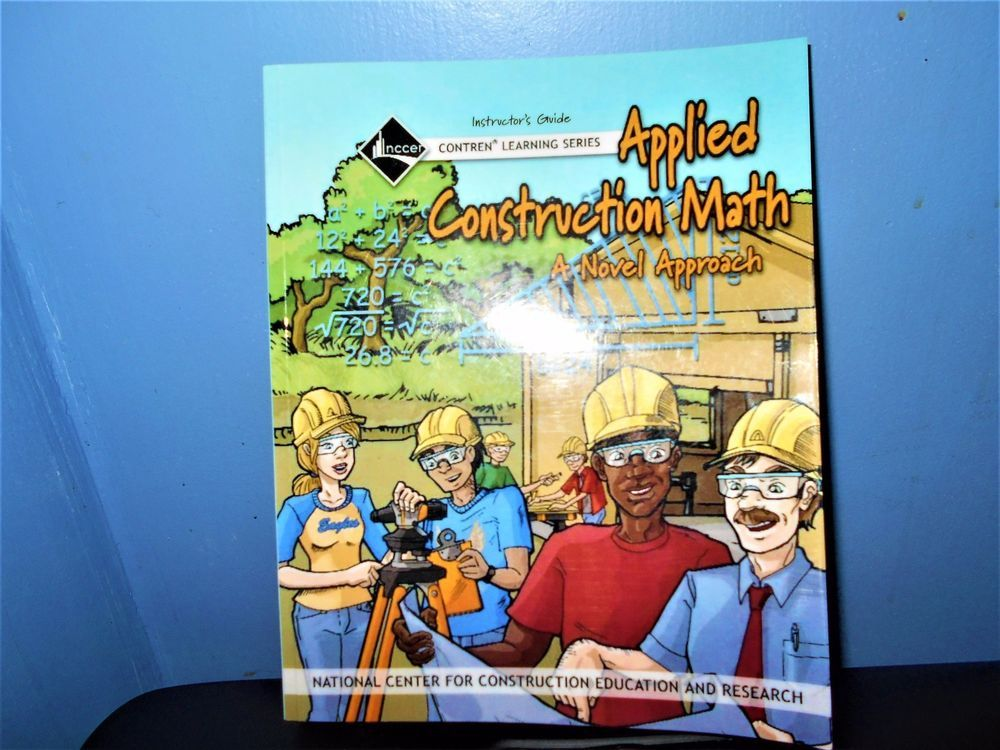 Applied Construction Math (2006, Paperback) W/ CD NCCER Instructor Guide NEW #InstructorsGuide