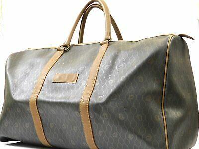 (eBay Ad) Christian Dior Travel Trank Duffle Luggage Hand bag Monogram Auth