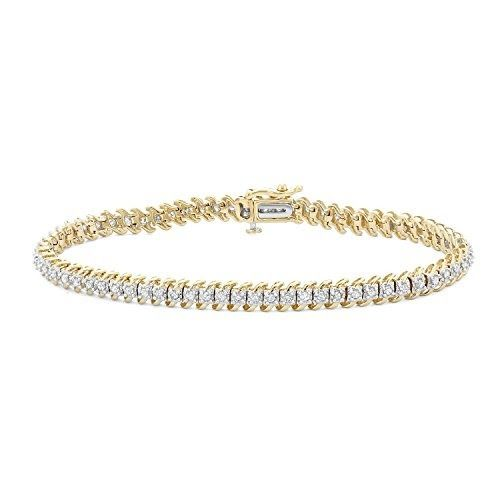 1.00 CTTW Diamond Tennis Bracelet