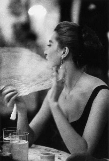 Capucine. Photo: Slim Aarons, 1957.