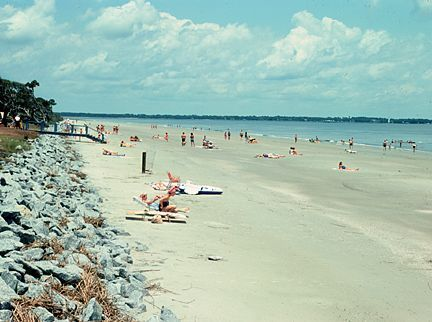 Learn About The Facilities On Two Main Beaches Of Jekyll Island Georgia Including One Famous From Film Glory Beach