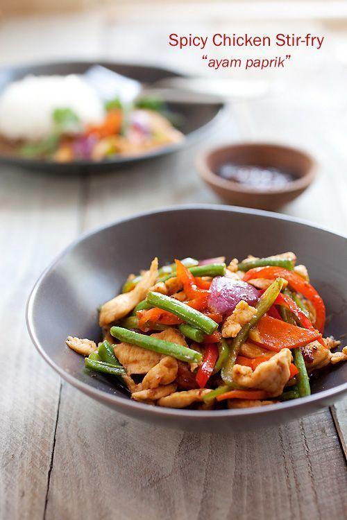 Easy chicken stir fry recipes indian