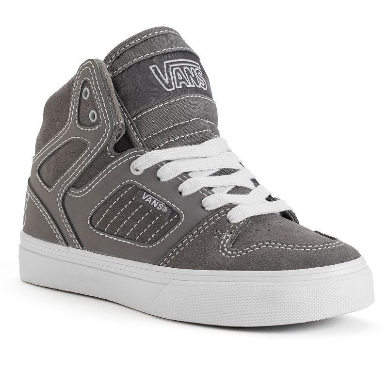 99ab27f74d5c Vans Allred Checkered High-Top Skate Shoes - Boys