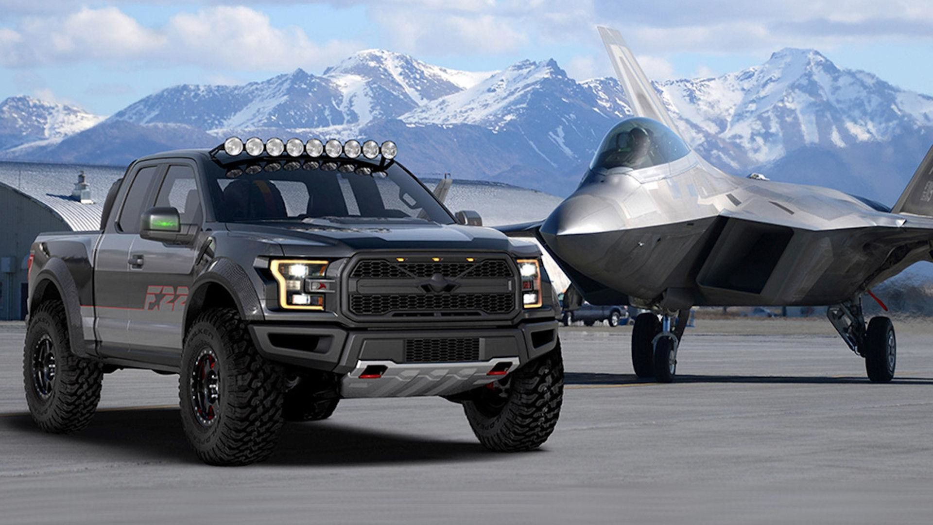 F 22 inspired f 150 raptor is the latest special ford built for