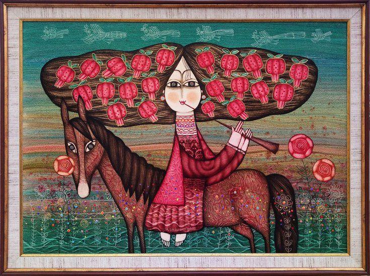 Pretty girl(50x70cm, framed, ready to hang) Семена