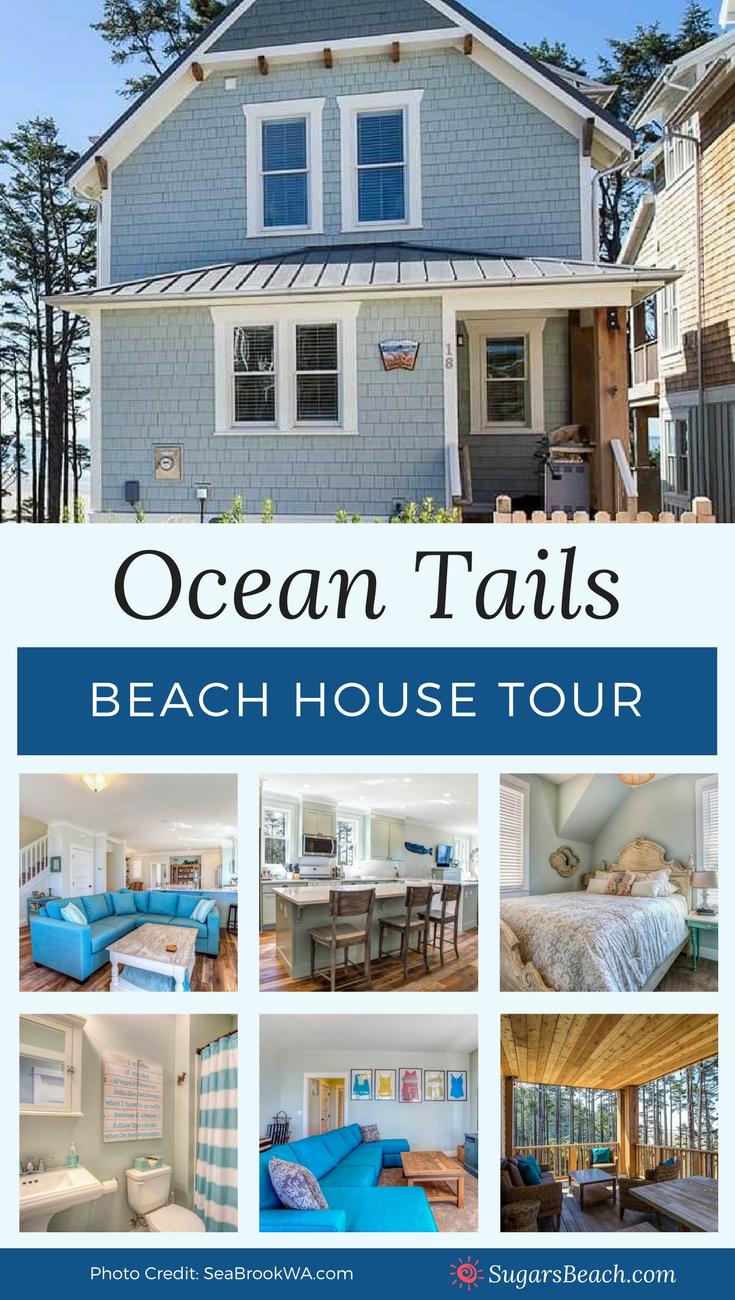 Beach House Tour Ocean Tails Beach House Decor Beach House Tour Beach Cottage Style Beach Cottage Style Decor