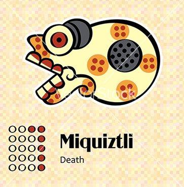 Aztec Symbol For Death Part One D Picarson Pinterest Aztec