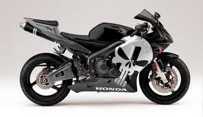 Honda Bike With Punisher Paint Job Honda Cbr Honda Cbr600rr Honda Cbr 600