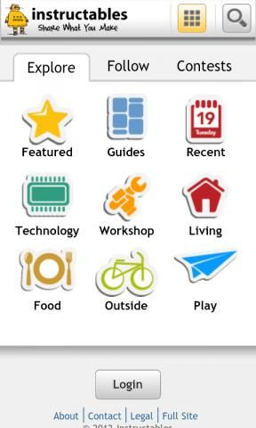 Download Instructables Online Android App My Inner Geek