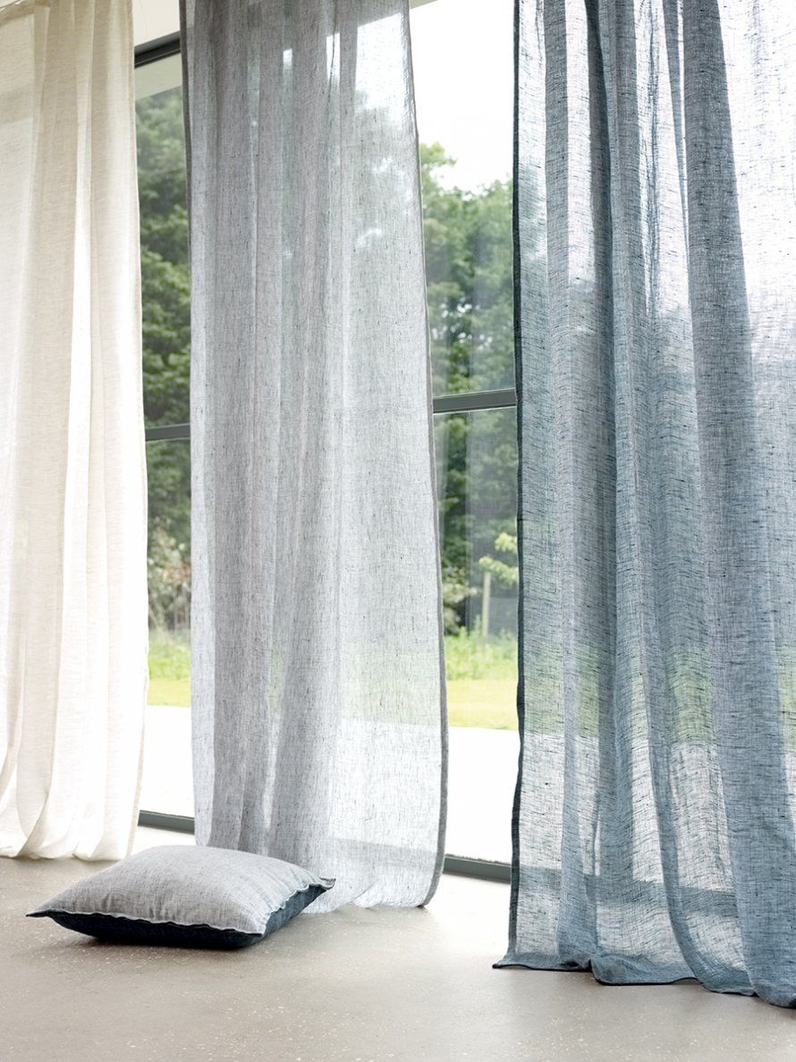 Voilage messina birch cep harbourg villa nova metal for Painting sheer curtains