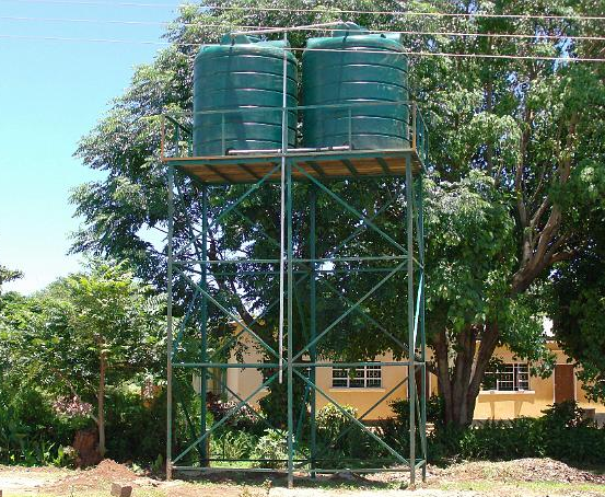 Water Tank Design : Steel tank stand stands pinterest